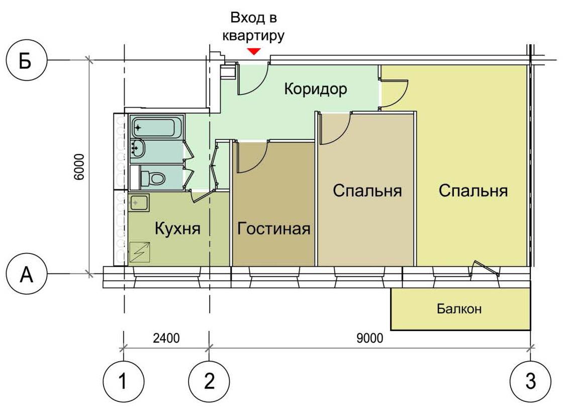Планировка четырехкомнатных квартир free.