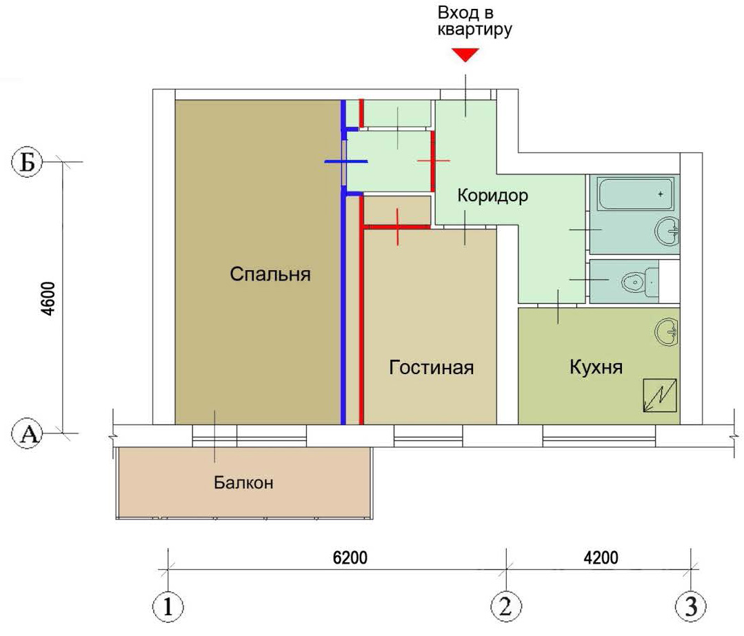 Перепланировка квартир согласование и узаконивание.