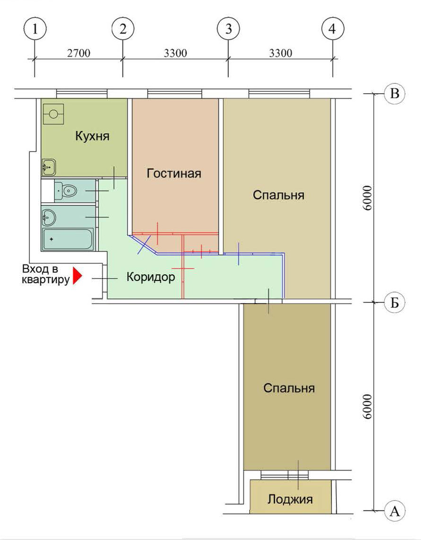 Перепланировка квартир в домах серии ii-49.