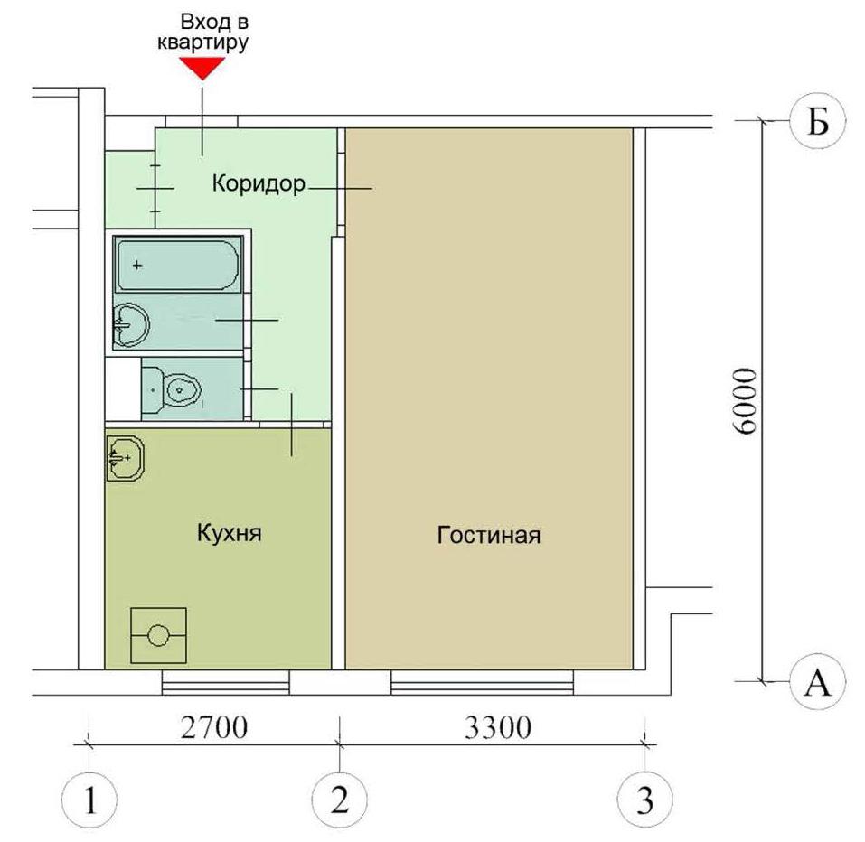 Схема квартиры ii-49д