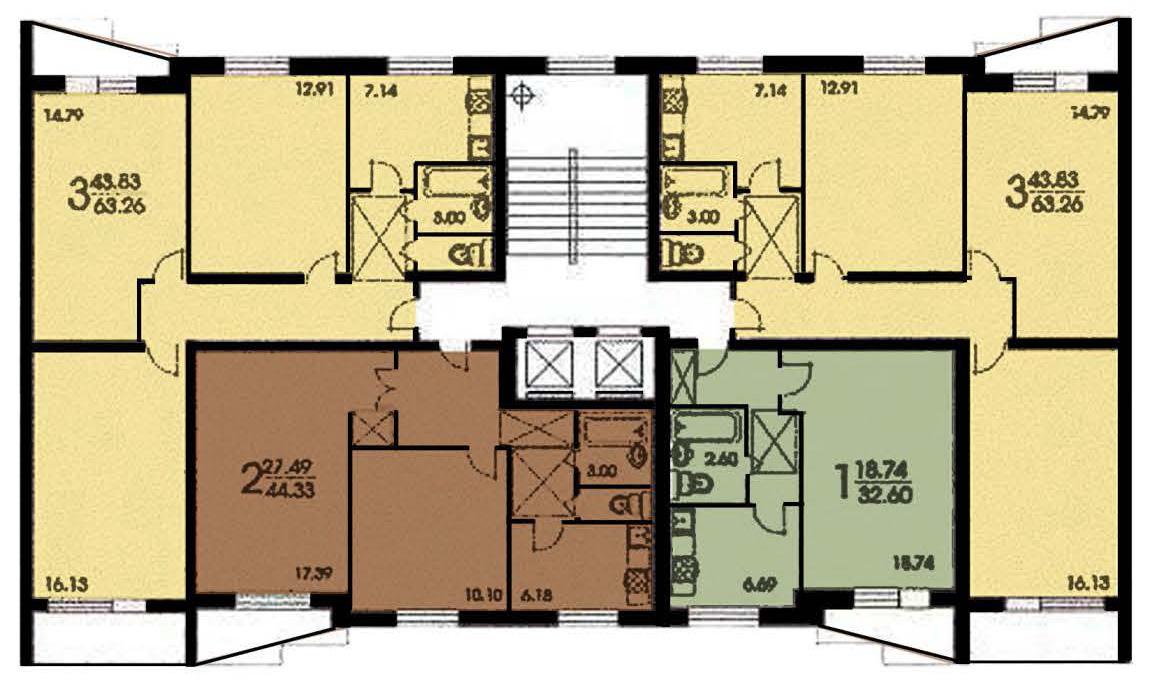 схема вентиляции 9-этажного панельного дома