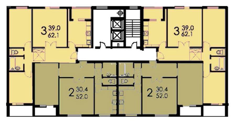 Перепланировка квартир п-46, варианты перепланировки в домах.