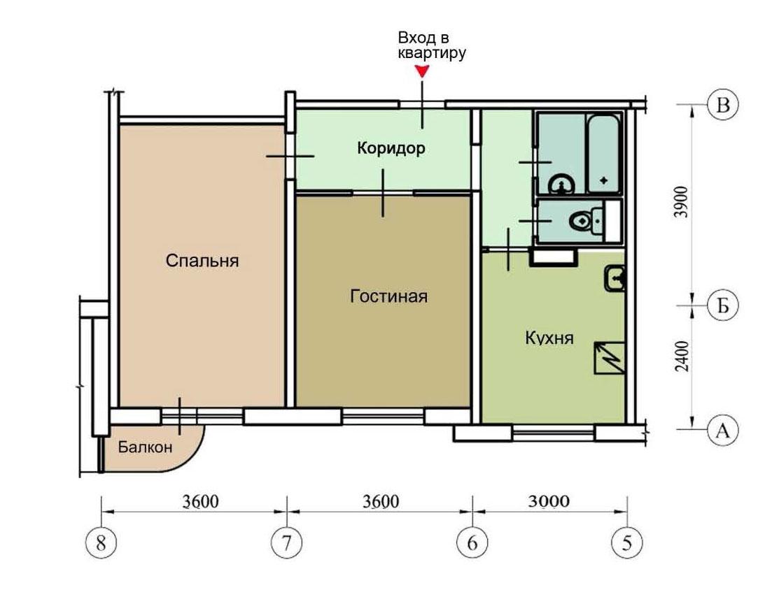 Серия дома п-3м - перепланировки квартир серии п-3м, планиро.