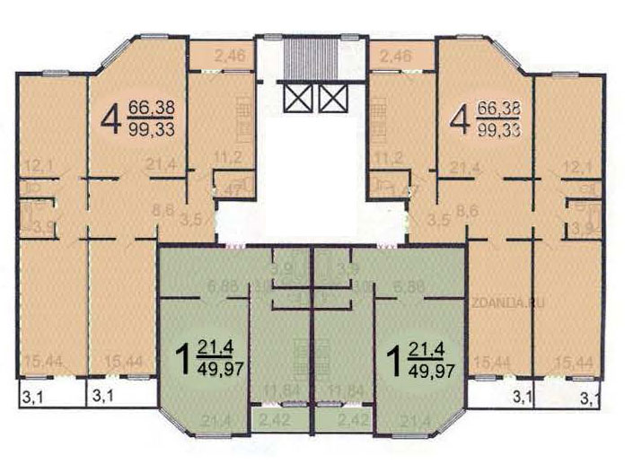 Ремонт квартир в домах серии п-55м, перепланировка квартир.
